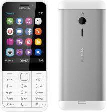 Nokia 230 Dual SIM Srebrny recenzja