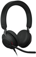 Jabra Evolve2 40 Duo MS Zestaw nagłowny przewodowy na dwoje uszu recenzja