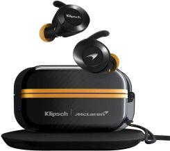 Klipsch T5 II True Wireless Sport McLaren czarne-żółte recenzja